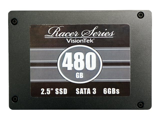 VisionTek 480GB Racer Series SATA 6Gb s 2.5 Internal Solid State Drive, 900501