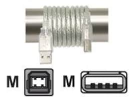 IOGEAR High Speed USB 2.0 Cable, Type A (M) to Type B (M), 6ft, G2LUAB06P, 8289890, Cables