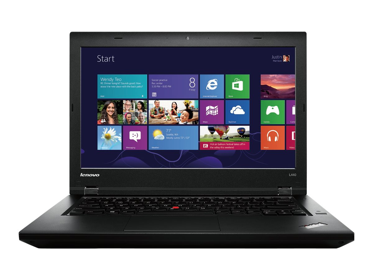 Lenovo TopSeller ThinkPad L440 : 2.2GHz Core i7 14in display, 20AT0027US, 16310687, Notebooks