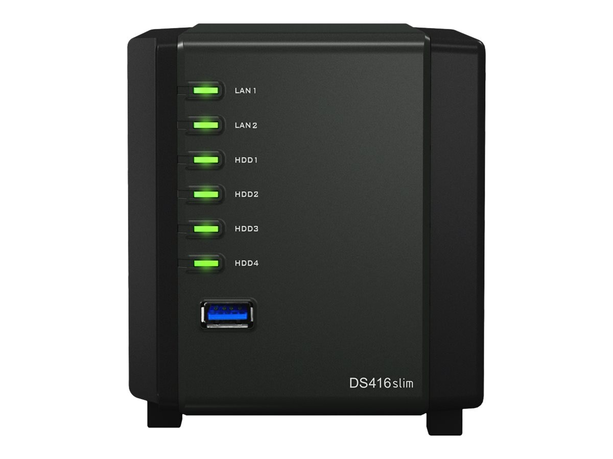 Synology DS416 Slim DiskStation NAS w  MARVELL Armada 88F6820 Dual Core