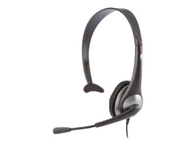 Cyber Acoustics AC-104 Mono Headset with Boom Mic, AC-104, 12917511, Headsets (w/ microphone)