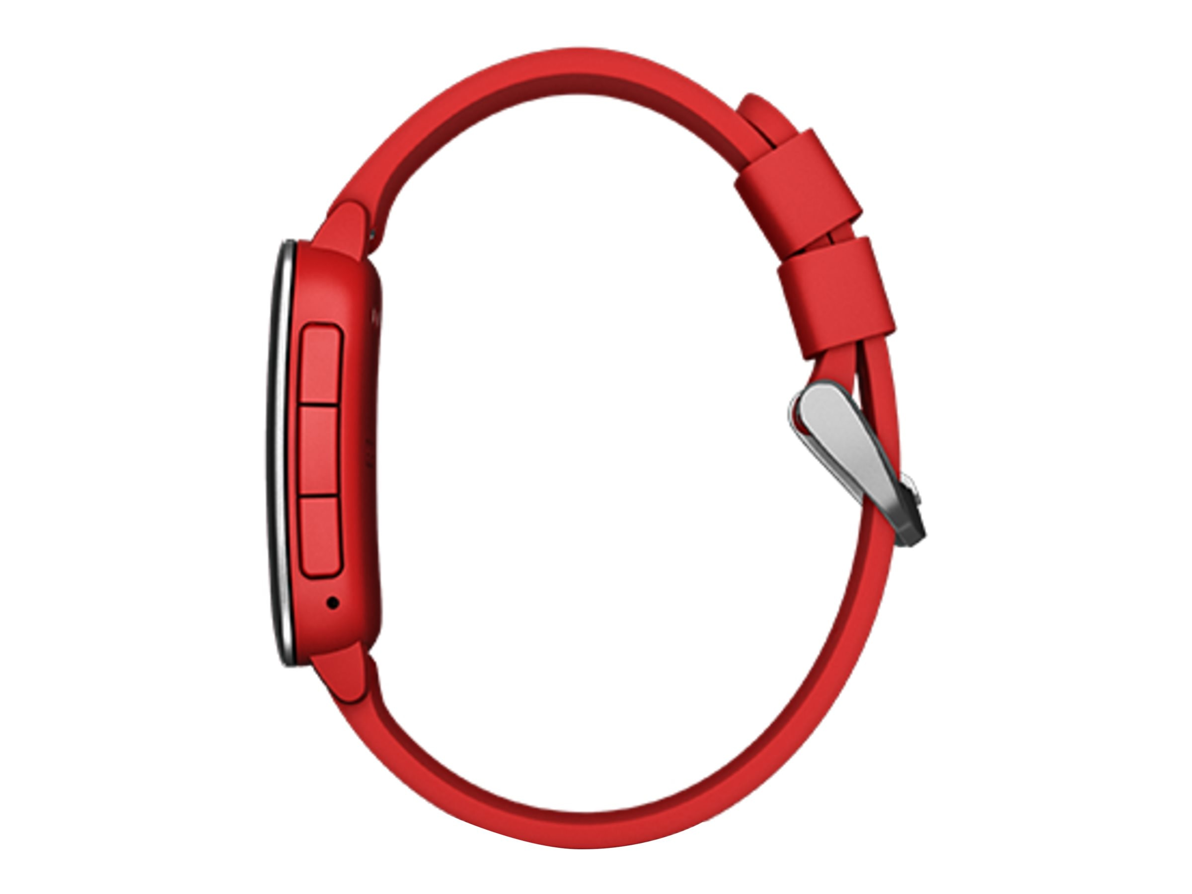 Pebble Time Smartwatch, Red, 501-00022