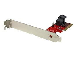 StarTech.com x4 PCI Express to SFF-8643 Adapter for PCIe NVMe U.2 Solid State Drive, PEX4SFF8643, 32464117, Drive Mounting Hardware
