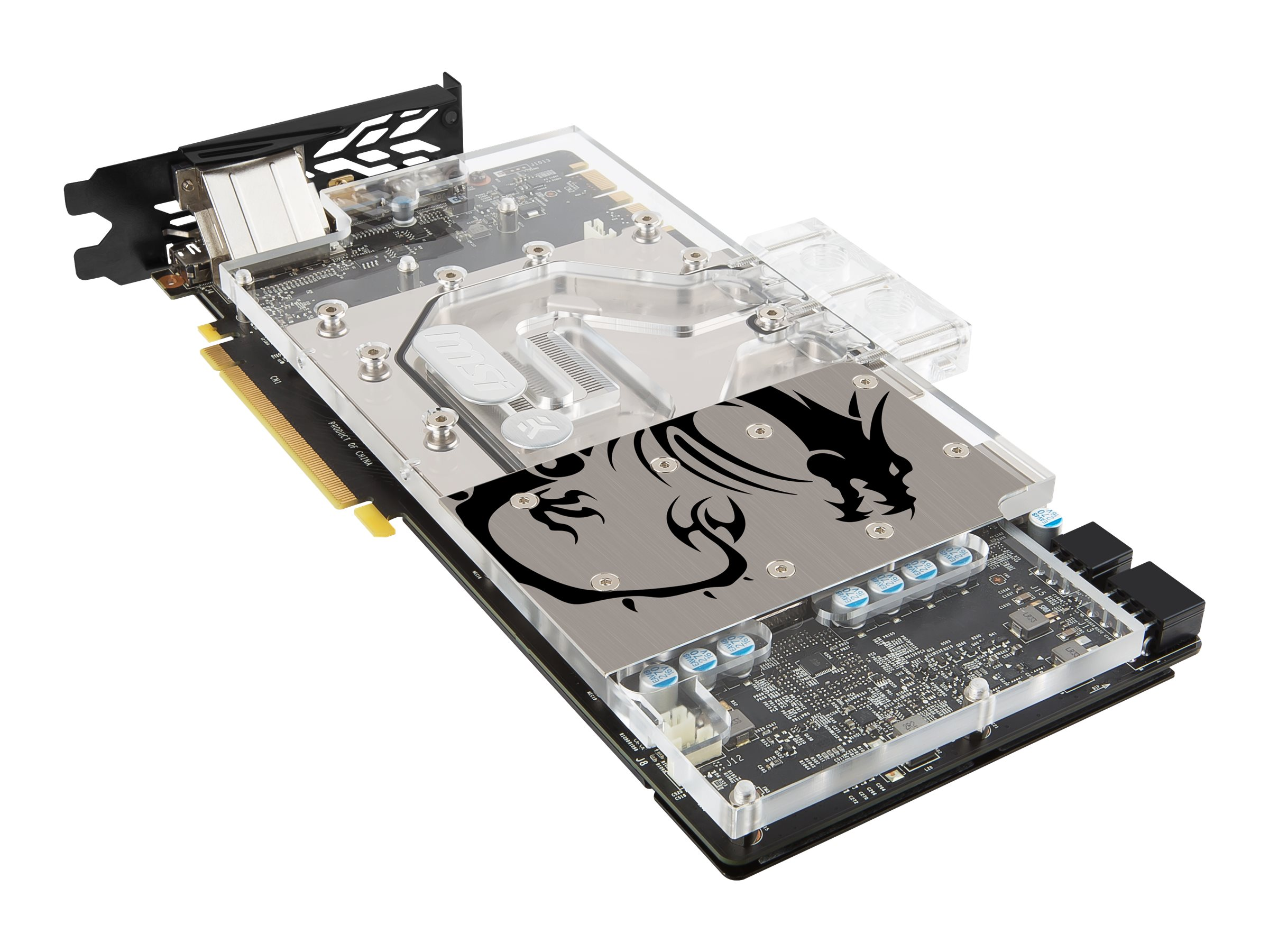 Microstar GeForce GTX 1070 Sea Hawk EK Graphics Card, 8GB GDDR5