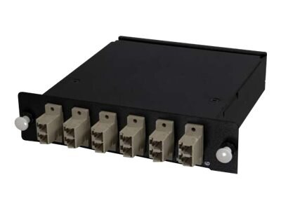 C2G Q-Series 12-Strand MTP MPO-LC Multi-Mode 62.5 125 Module Method B, 77574, 30945558, Premise Wiring Equipment