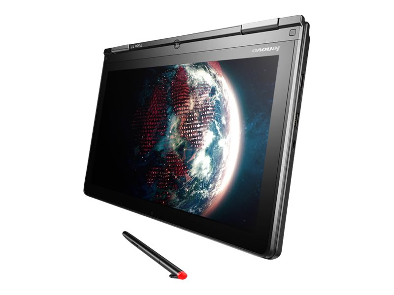 Lenovo TopSeller ThinkPad Yoga 12 Core i5-5200U 2.2GHz 4GB 500GB+16GB SSD ac BT WC 8C 12.5 HD MT W8.1P64, 20DL0037US, 18470158, Notebooks - Convertible