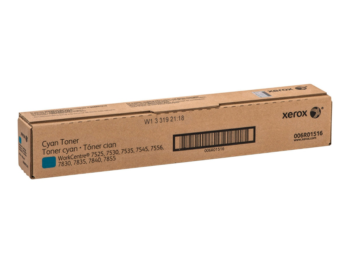 Xerox Cyan Toner Cartridge for WorkCentre 7525, 7530, 7535, 7545 & 7556