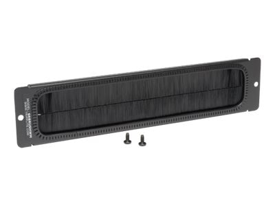Tripp Lite Brush Strip Plate for Wall-Mount Racks