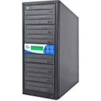 Ez-dupe 7-Target Dual Format DVD CD Duplicator w  LG Drives, EZD7TDVDLGB, 9674651, Disc Duplicators