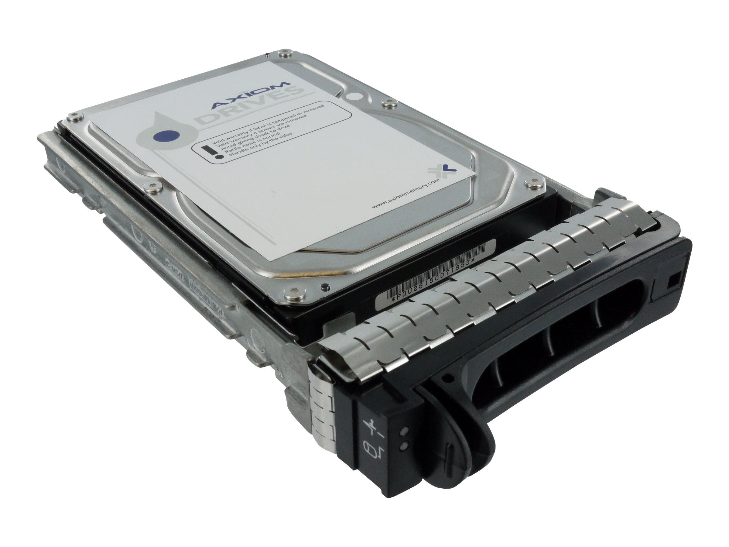 Axiom 3TB 7.2K RPM SAS Hard Drive Kit for Dell, AXD-PE300072D6, 15150335, Hard Drives - Internal