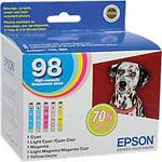 Epson High Capacity 5-color Ink Multipack for Artisan 700 800
