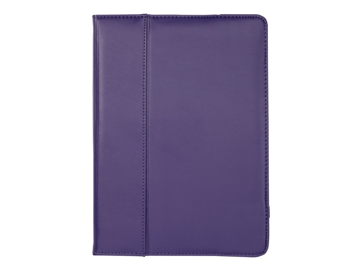 Cyber Acoustics Leather Cover for iPad Air, Purple, IC-1932, 16433169, Carrying Cases - Tablets & eReaders
