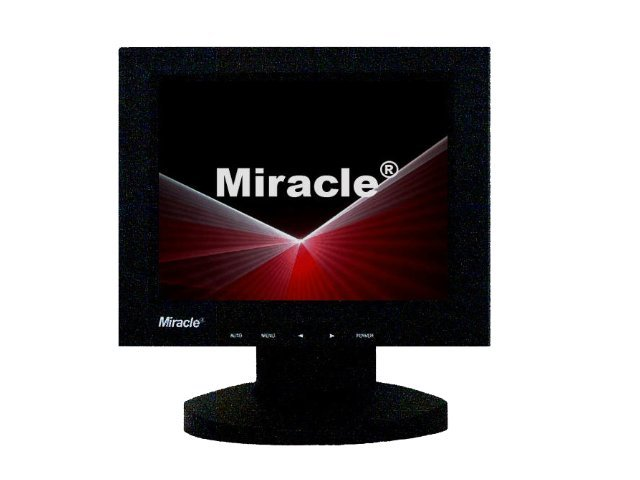 Miracle Business 8 TFT LCD Monitor, BLACK, LT08B, 9138840, Monitors - LCD