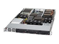 Supermicro SuperServer 6016GT-TF-FM275 1U RM, Super X8DTG-DF, 3x3.5 HS Bays, Video, 1400W PS, SYS-6016GT-TF-FM275, 13737925, Servers