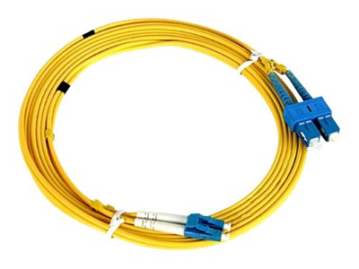 Axiom LC-LC 9 125 OS2 Singlemode Duplex Fiber Cable, 6m, TAA, AXG94684, 26837204, Cables