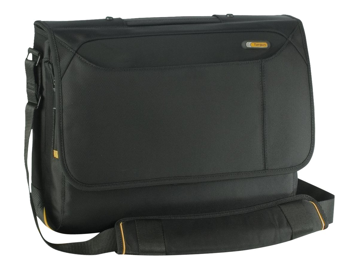Targus Meridian Messenger Notebook Carry Case Poly, Black (Dell Only), TSM091US