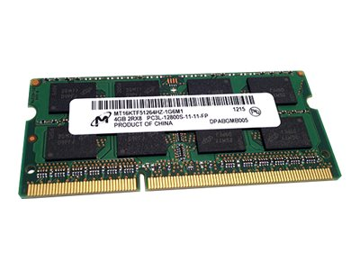 HP 4GB PC3L-12800 204-pin DDR3L SDRAM SODIMM for Select Models, P2N46AA, 30951894, Memory