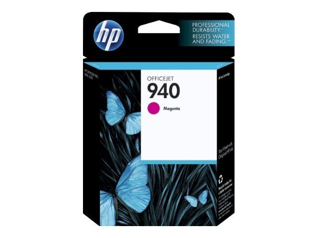 HP 940 (C4904AN) Magenta Original Ink Cartridge, C4904AN#140, 9284046, Ink Cartridges & Ink Refill Kits