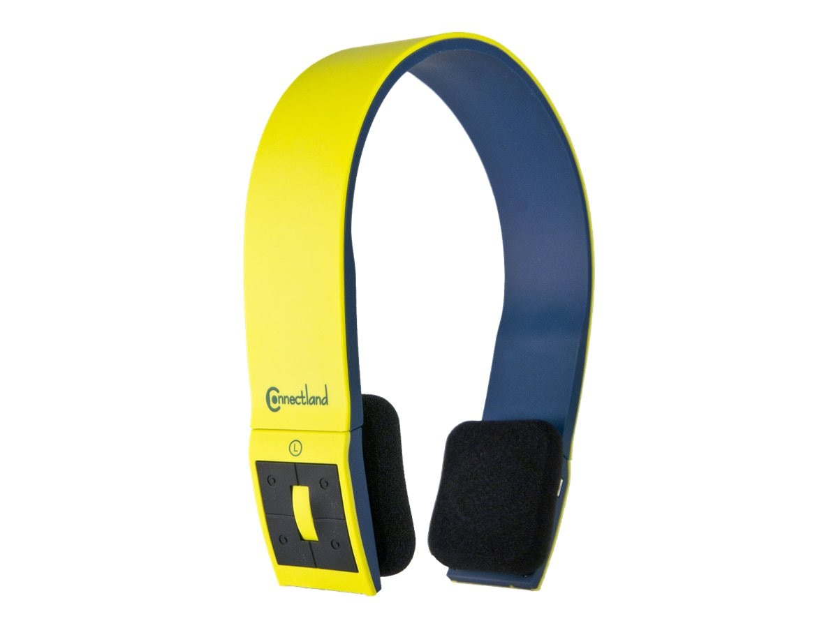 Syba CL-AUD23038 Bluetooth V2.1 Headset w  Mic - Yellow