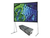 Draper Cinefold Portable Projection Screen with T-Legs, 4:3, 6x8ft, 241074, 9467011, Projector Screens
