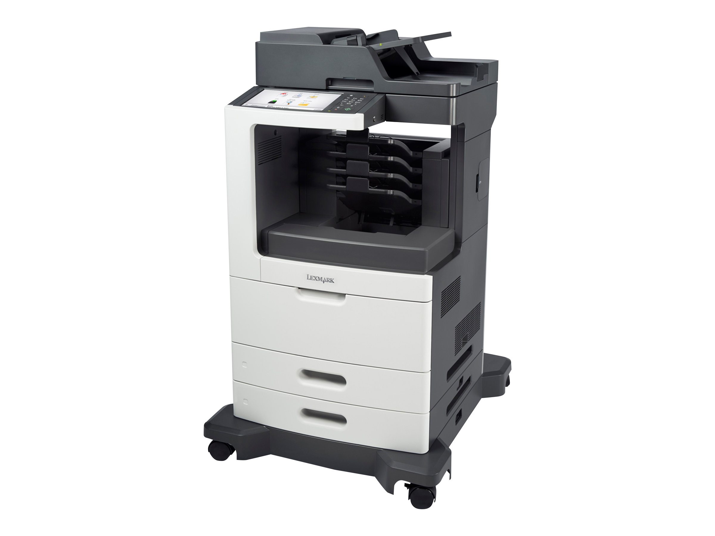 Lexmark MX810dme Monochrome Laser Multifunction Printer, 24TT160