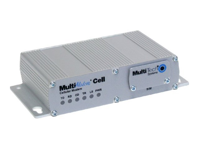 Multitech Quad Band GPRS RS232 Bundle 850 900 1800 1900MHz, MTCBA-G2-NAM, 12603431, Modems