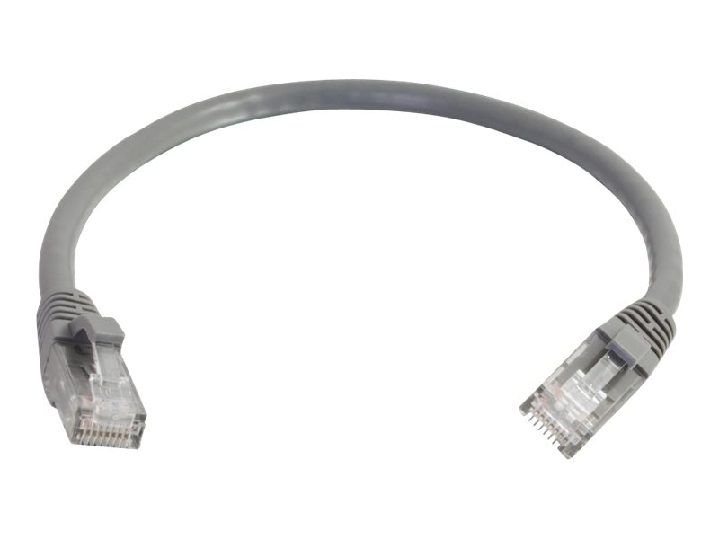 C2G Cat6 Snagless Unshielded (UTP) Network Patch Cable - Gray, 4ft