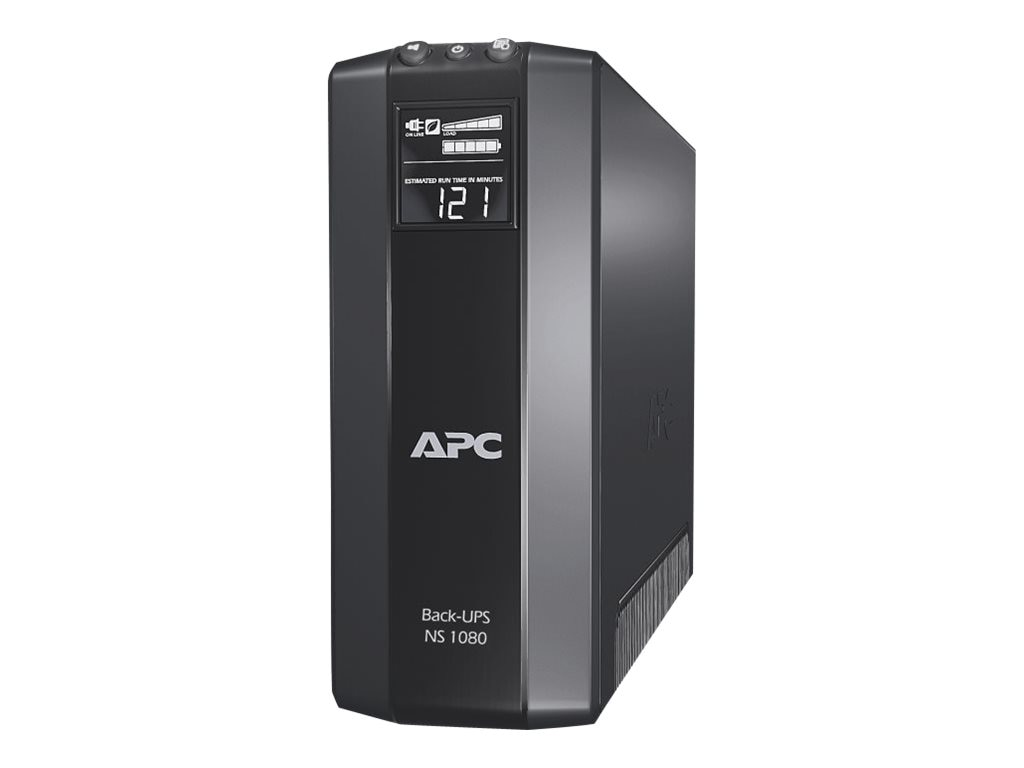 APC Back-UPS Pro NS Power Saving 1080VA 650W 120V Tower Line-Interactive UPS (8) Outlets USB, BN1080G, 30790066, Battery Backup/UPS