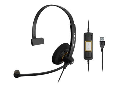 Sennheiser Culture Single Lync, SC30 USB ML, 15258477, Headsets (w/ microphone)