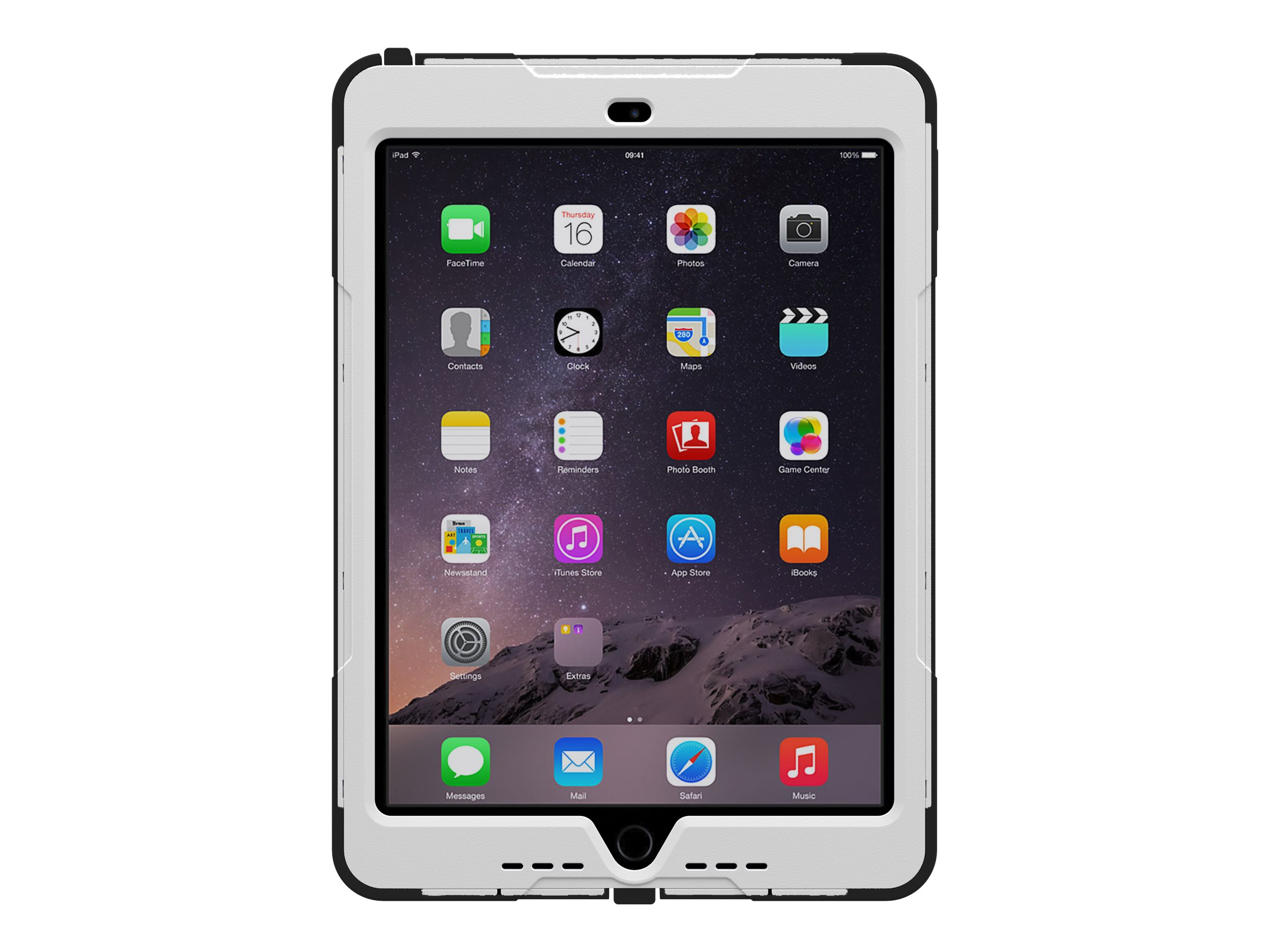 Trident Case 2015 Cyclops Case for iPad Air 2, White, CY-APIPA2-WT000, 19013696, Carrying Cases - Tablets & eReaders