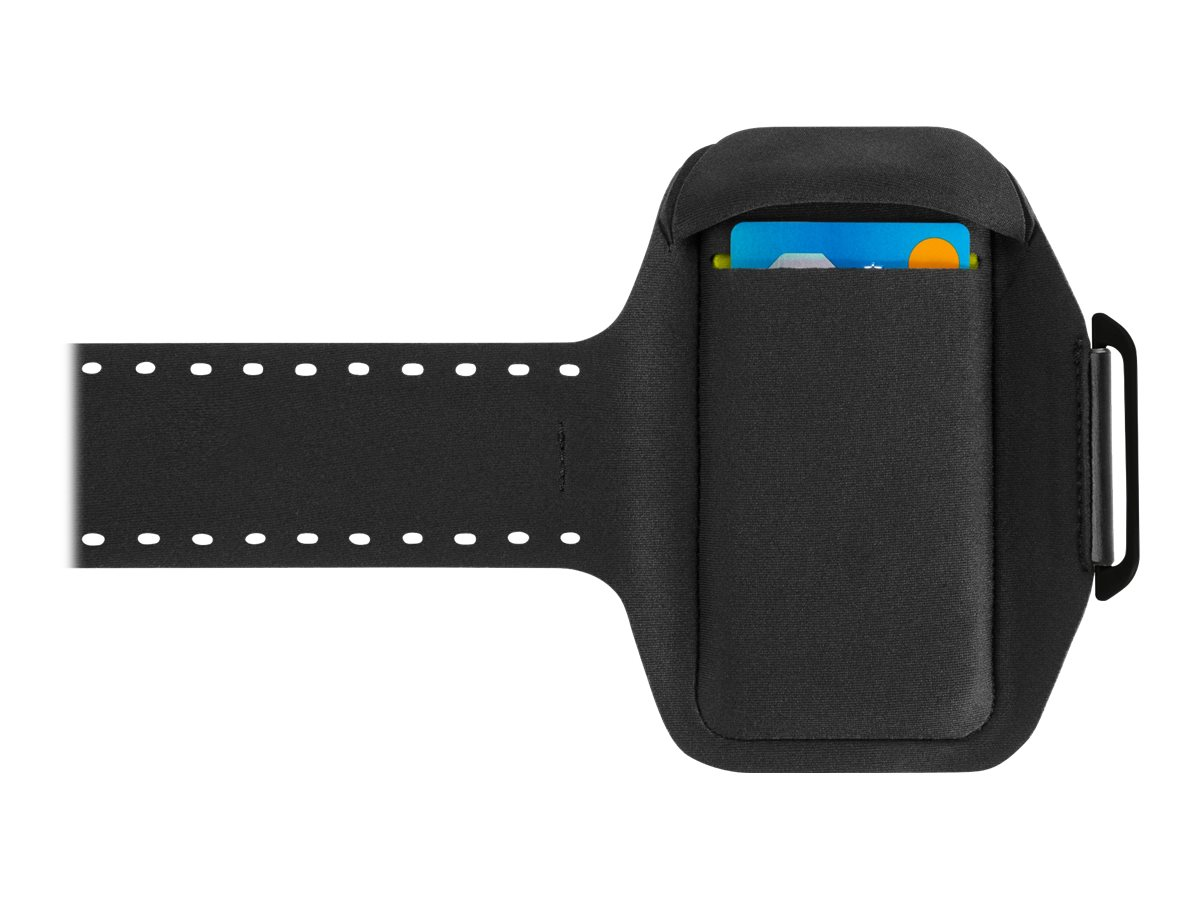 Belkin Sport-Fit Plus Armband for Galaxy S6, Blacktop, F8M942-C00