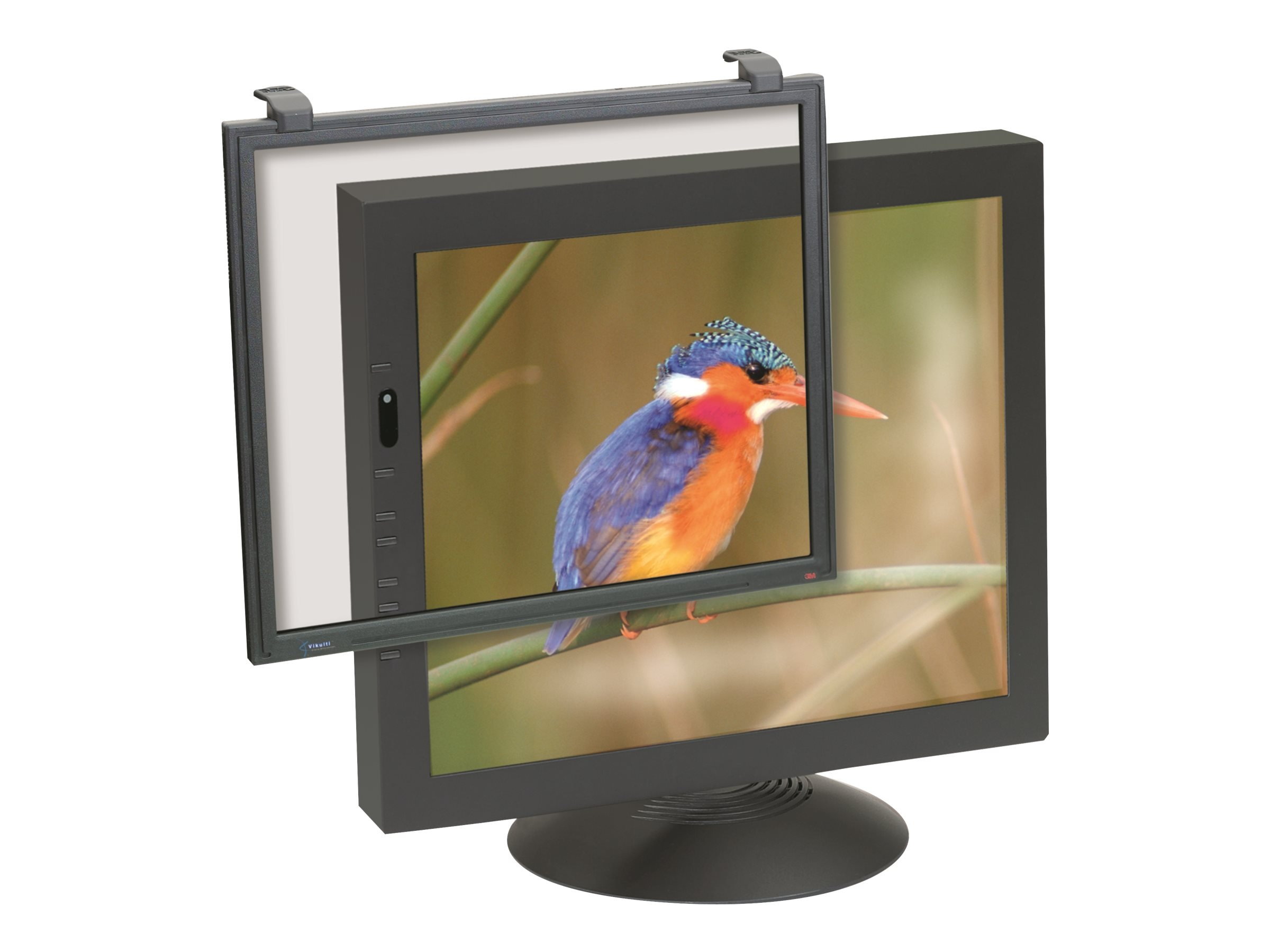 3M Executive Anti-Glare Glass Framed 19-20 Filter, EF200C4F