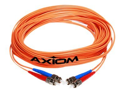 Axiom Fiber Patch Cable, LC-LC, 62.5 125, Mutlimode, Duplex, 5m, LCLCMD6O-5M-AX, 13221064, Cables
