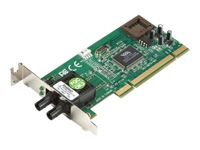 Black Box 100Base-FX Fiber PCI NIC, ST Mulit-mode