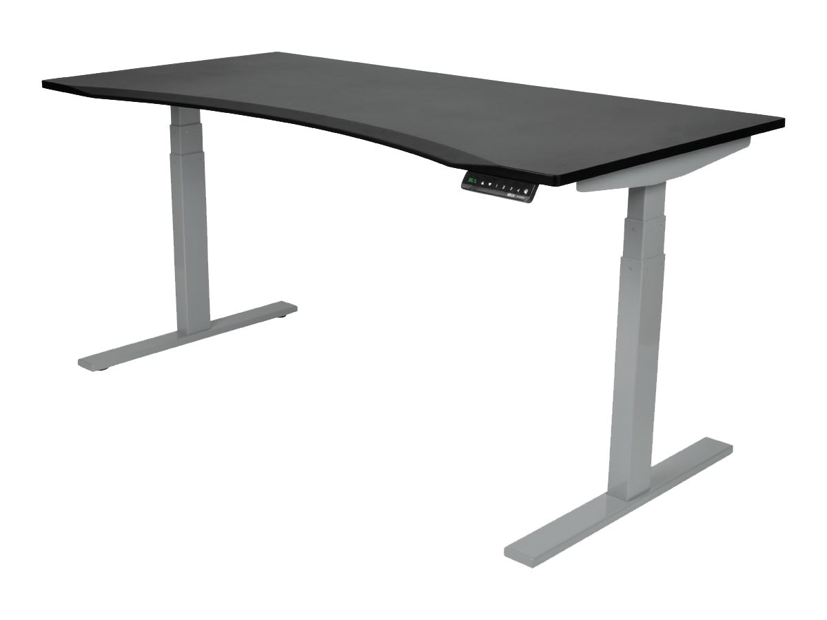Tripp Lite Sit Stand Adjustable Electric Desk Base for WorkWise Standing Desk, Gray, WWBASE-GY