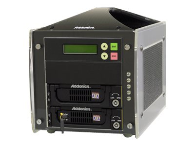 Addonics 1:1 Hard Drive Solid State Drive Duplicator for SATA, IDE or Diamind Cipher Drive, HDUSI325AES-A