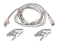 Belkin Cat6 Patch Cable, White, Snagless, 6ft