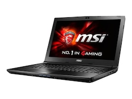 MSI GL62 Core i5-6300HQ 2.3GHz 32GB 1TB+256GB SSD DVD SM ac BT WC 6C GTX 960M 15.6 FHD W10, GL62 6QF-1277, 32342267, Notebooks