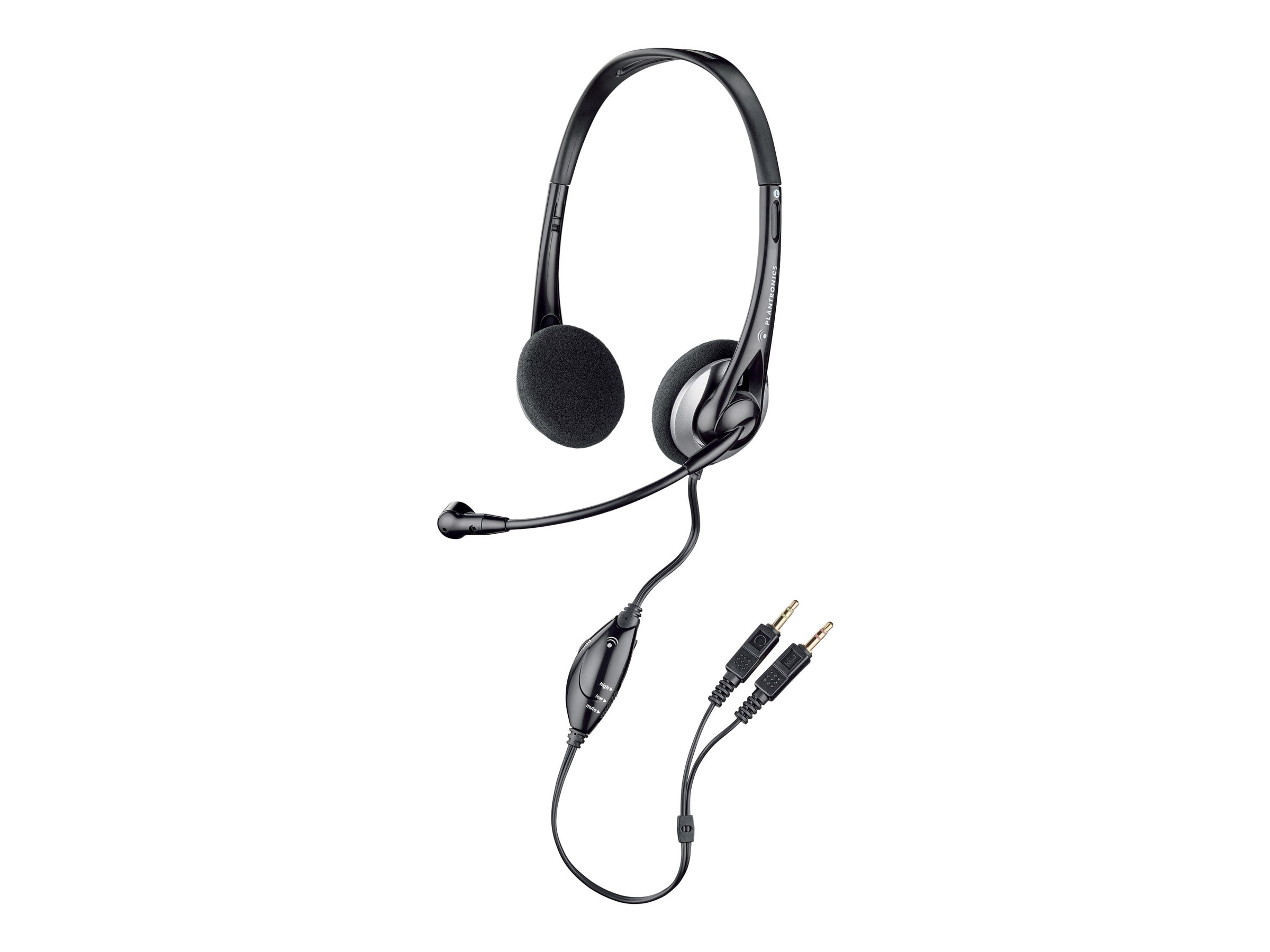 Plantronics .Audio 326 Stero Headset, 80933-11, 16396732, Headsets (w/ microphone)