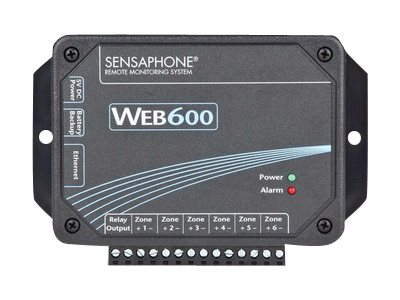 Sensaphone Web600 Web-Based Monitoring and Alarm Notification System, FGD-W600