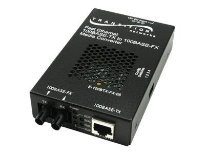 Transition 100Base-TX+ Fiber Media Converter (SMLC)