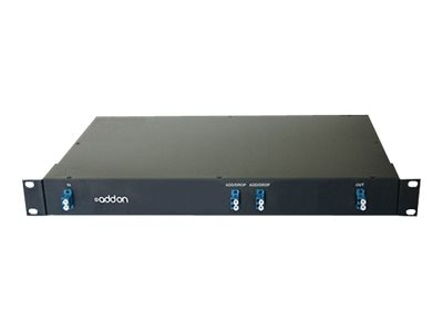 ACP-EP 2-Channel Optical Add Drop Mux DWDM LC 1530.33NM to 1560.61NM 19in Rack, ADD-OADM-2DWDM