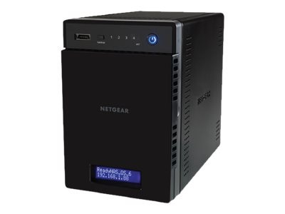 Netgear 8TB ReadyNAS204 4-Bay Network Attached Storage, RN20442D-100NES, 20658521, Network Attached Storage