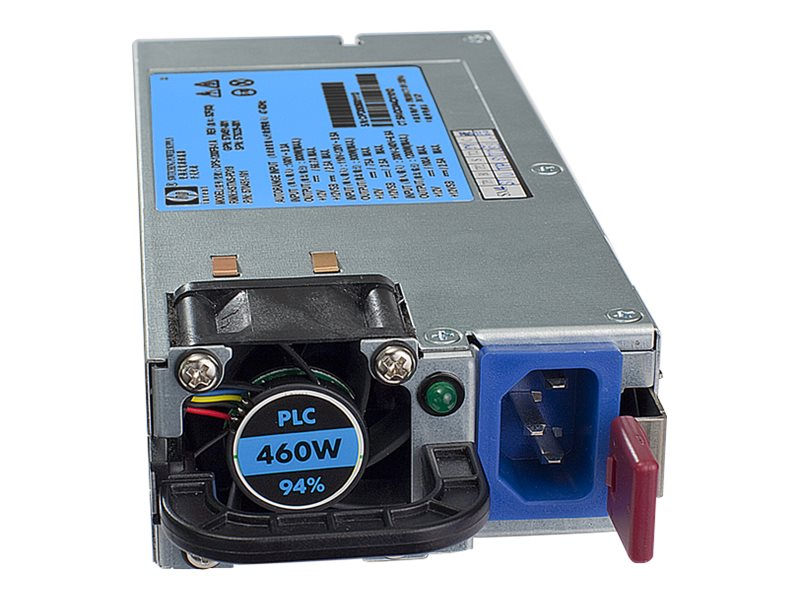 HPE 460W CS HE Hot Plug AC Power Supply 120-240VAC