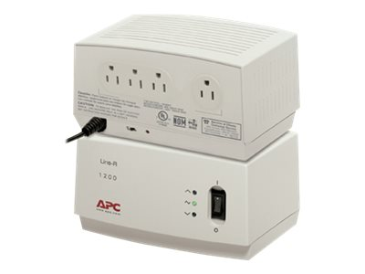 APC Line-R 1200VA Automactic Voltage Regulator, 680 Joules, LE1200
