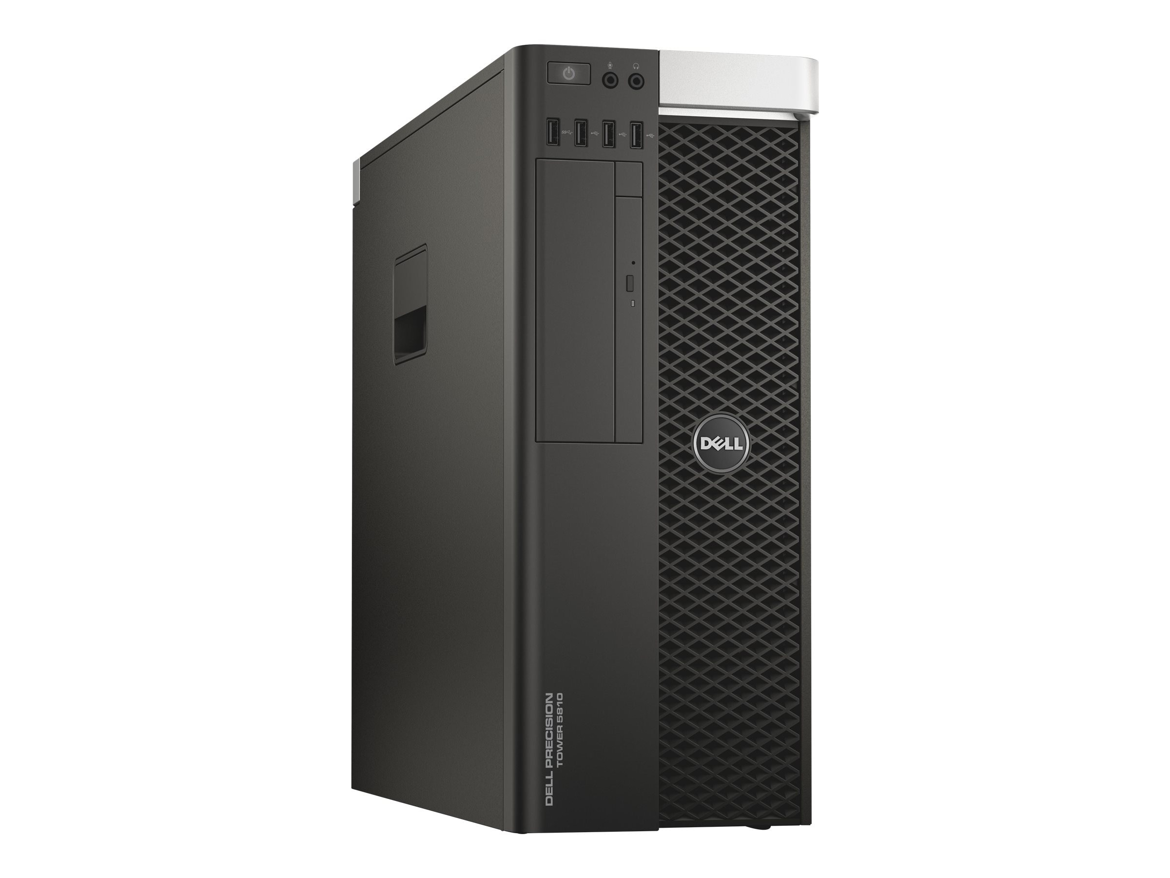 Dell Precision 5810 Tower Xeon QC E5-1620 v3 3.5GHz 8GB 1TB K620 DVD-ROM GbE W7P64-W10P, 7JT26