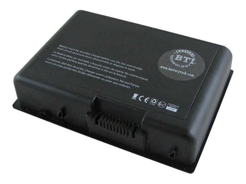 BTI 6-Cell Battery for Toshiba PA3589U-1BRS PABAS106, TS-QF45, 23407137, Batteries - Notebook