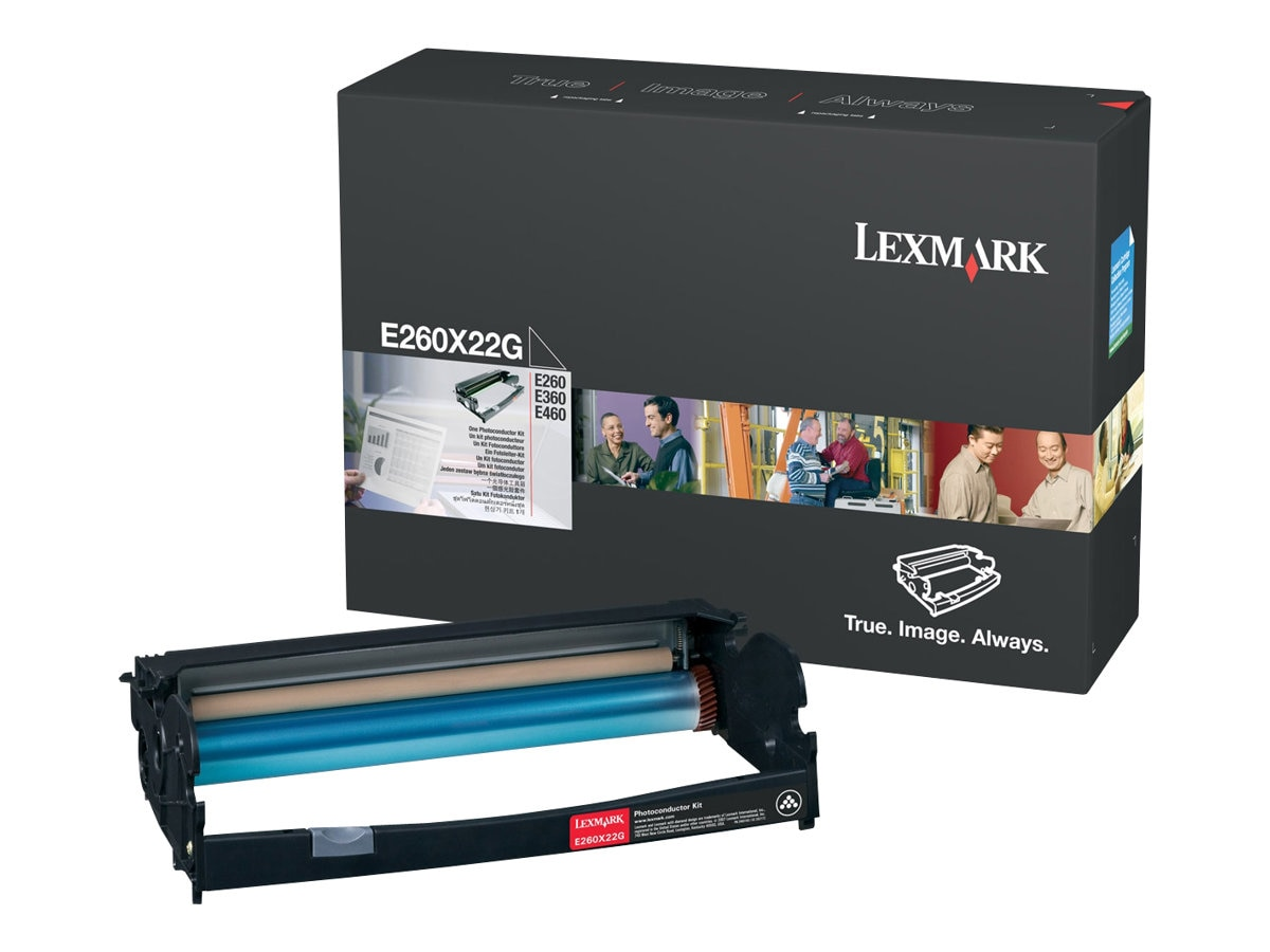 Lexmark Photoconductor Kit for E260, E360 & E460 Series Printers, E260X22G