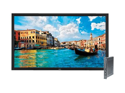 NEC 55 V552 Full HD LED-LCD Display, Black with Integrated Digital Media Player