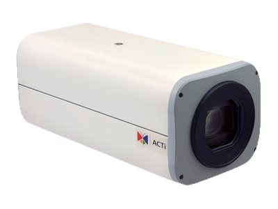 Acti 2MP Day Night Extreme WDR IP Box Camera with 4.7 to 94mm Varifocal Lens, B214